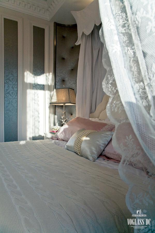 混搭 绿城玫瑰园 尚层装饰 别墅 欧式 80后 卧室图片来自上海尚层装饰官网在绿城玫瑰园别墅装修案例的分享