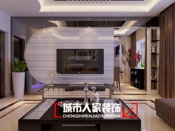 紫竹苑135平米现代简约装修设计
