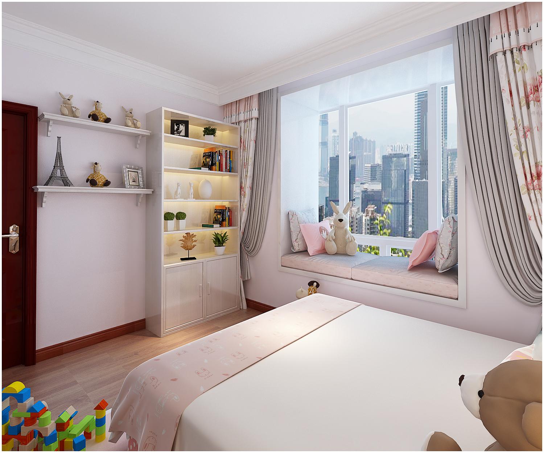 三居 美式 收纳 小资 儿童房图片来自快乐彩在尚乐城美式装修风格设计的分享