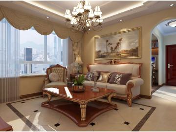 尚乐城美式装修风格设计
