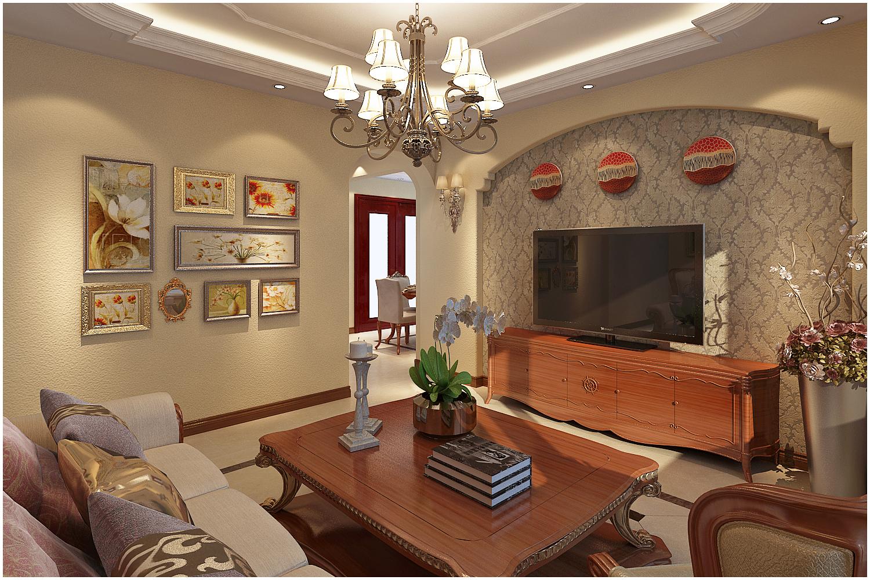 三居 美式 收纳 小资 客厅图片来自快乐彩在尚乐城美式装修风格设计的分享