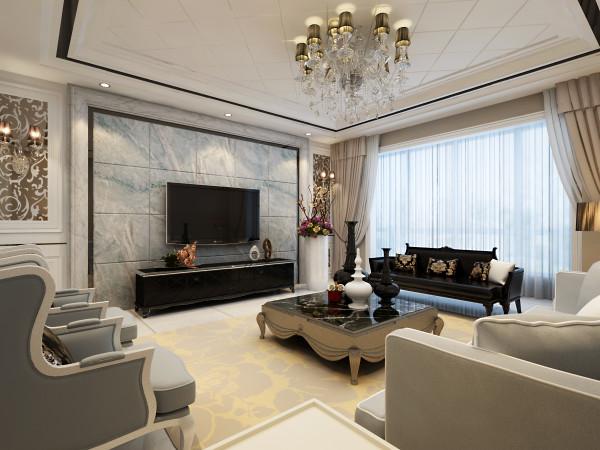 设计理念:简约大气的装饰,让他们深刻感受「家」的味道。