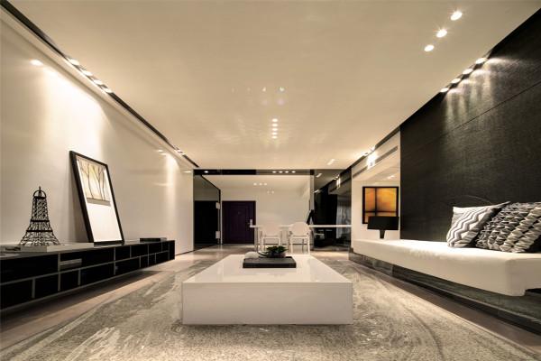 客厅装修设计整个通透明亮,减少生活中的压力。