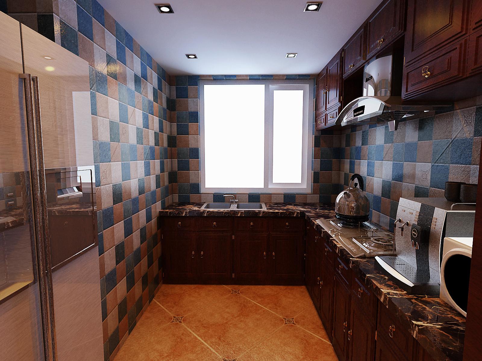 欧式 二居 80后 亚洲城 百家装饰 厨房图片来自百家设计小刘在亚洲城92平欧式风格半包3.5万的分享