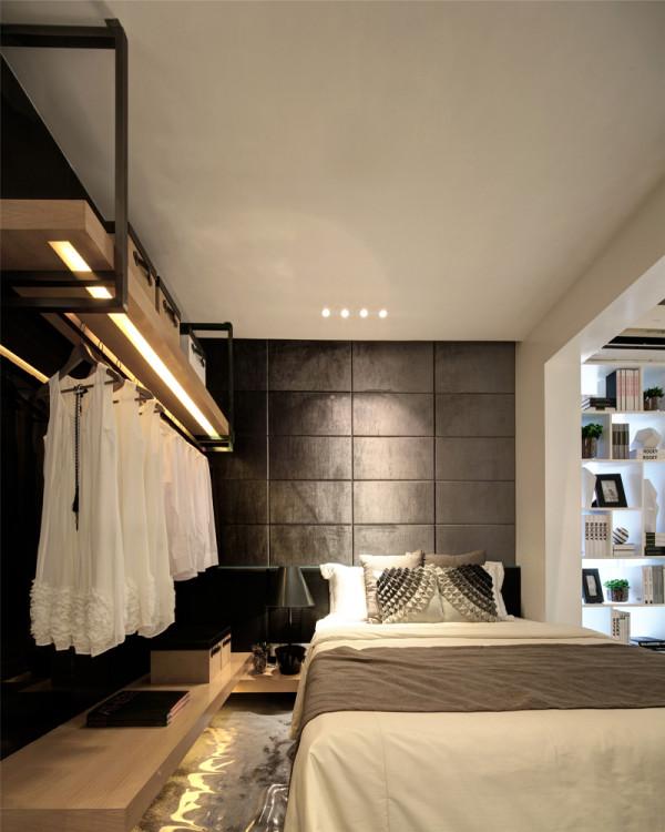 卧室装修衣柜的设计简约并不是缺乏设计要素,它是一种更高层次的创作境界。