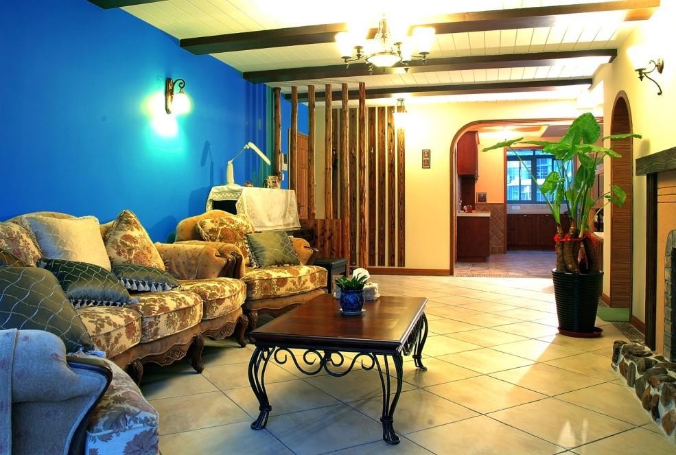 三居 白领 旧房改造 80后 小资 客厅图片来自今朝老房专家在地中海风情的分享