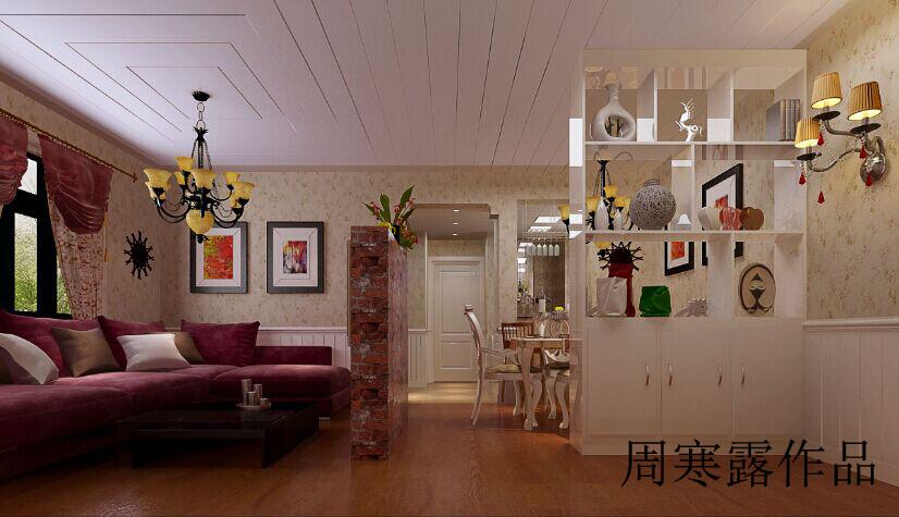 简约 欧式 田园 混搭 二居 三居 别墅 白领 旧房改造 客厅图片来自用户3800522194在美式乡村的分享