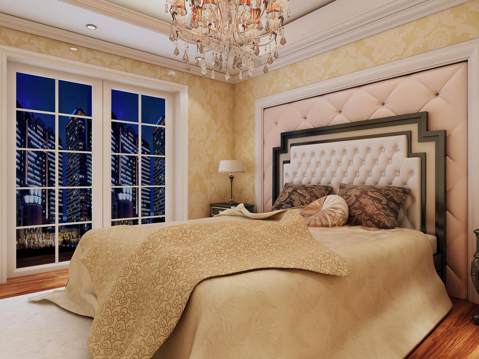 简约 欧式 田园 混搭 三居 二居 别墅 白领 旧房改造 卧室图片来自用户5599387783在张腾飞老师作品的分享
