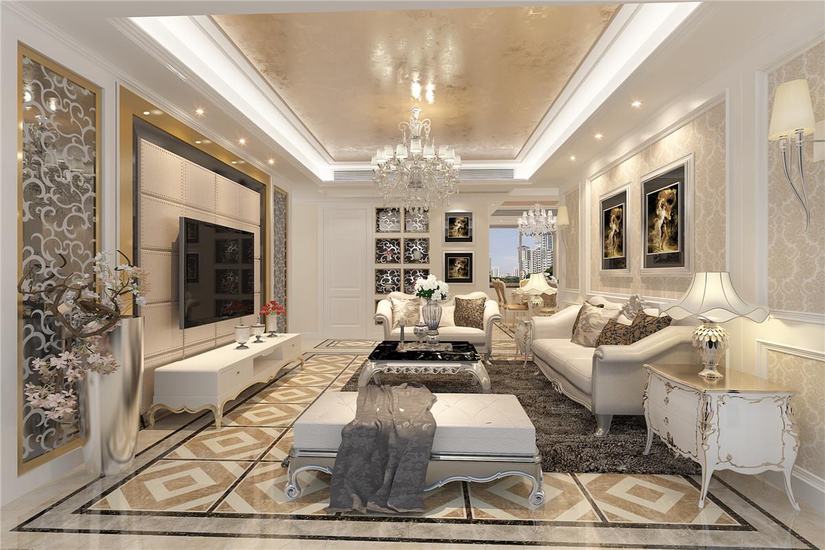 静安晶华苑 装修设计 现代欧式 聚通装潢 客厅图片来自jtong0002在静安晶华园三居室装修欧式风格的分享