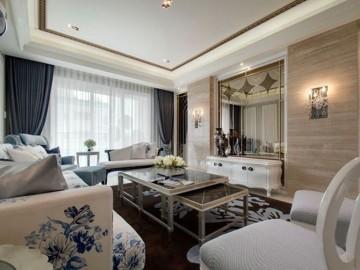 中国铁建国际城三居室简欧