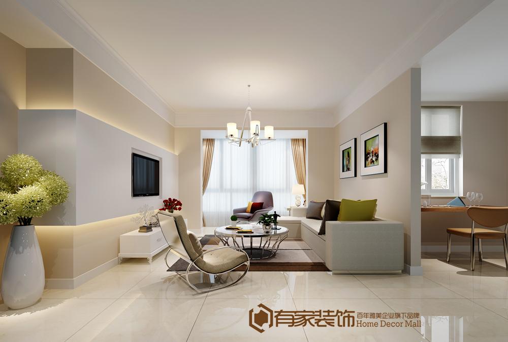 三居 简约 客厅图片来自福州有家装饰-小彭在大儒世家8#04的分享