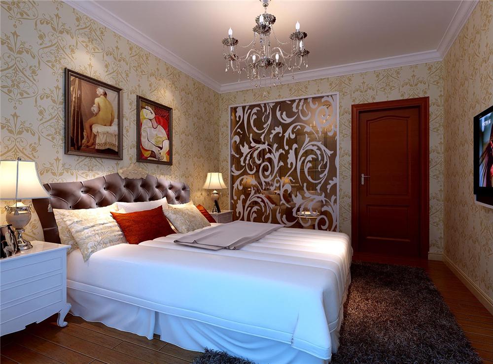 二居 白领 收纳 80后 小资 卧室图片来自实创装饰完美家装在K2玉兰湾80平简欧风格案例赏析的分享