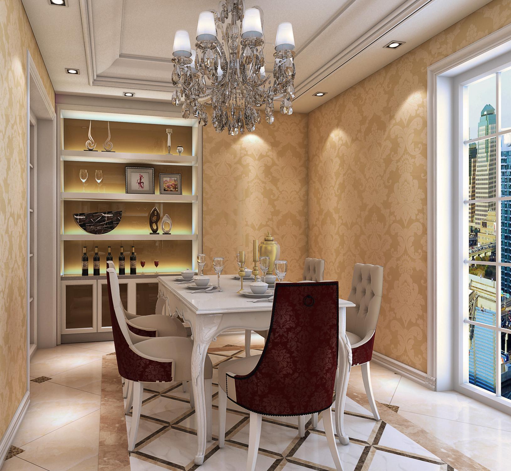 简约 欧式 田园 混搭 三居 二居 别墅 白领 旧房改造 餐厅图片来自用户5599387783在张腾飞老师作品的分享