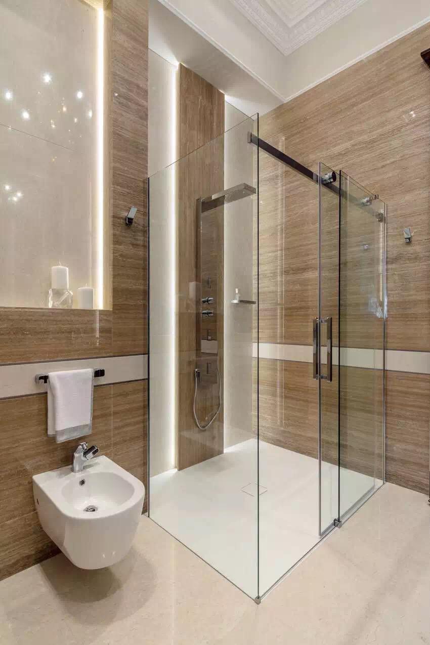 新古典风格 三居 老房翻新 婚房装修 卫生间图片来自实创装饰上海公司在新古典风格高贵典雅大气之家的分享