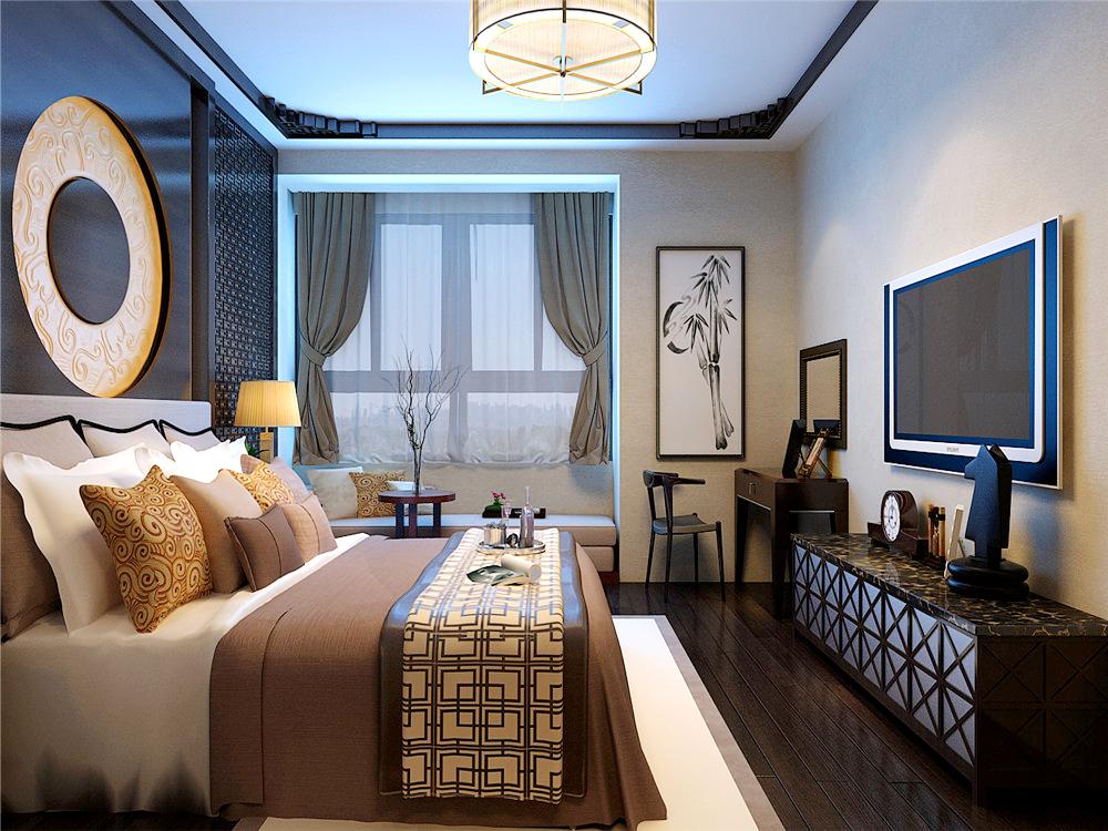 中式风格 别墅 卧室图片来自沈阳林凤装饰装修公司在理石雕刻出古典中式的分享