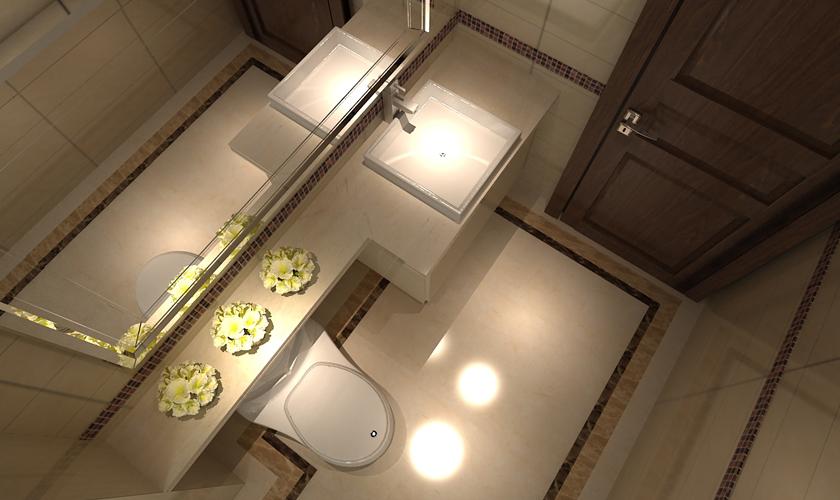 别墅装修 别墅设计师 青岛装修 装修公司 威廉装饰 卫生间图片来自安莉_Designer在悦海豪庭的分享