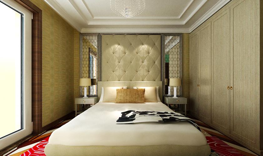 别墅装修 别墅设计师 青岛装修 装修公司 威廉装饰 卧室图片来自安莉_Designer在悦海豪庭的分享
