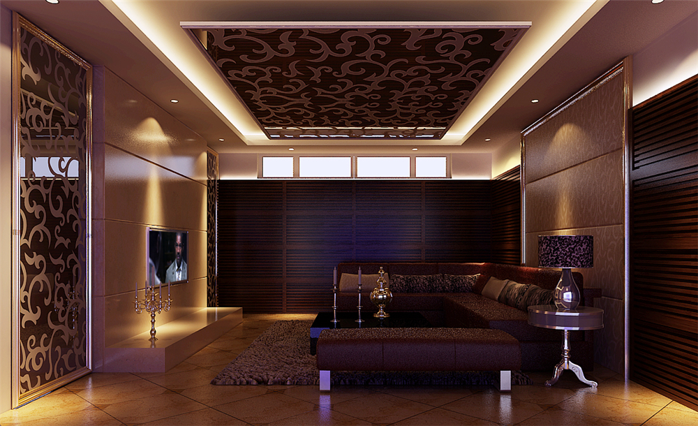 白领 收纳 80后 小资 旧房改造 三居 客厅图片来自实创装饰完美家装在天通苑175平新中式风格案例赏析的分享