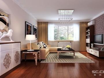 自建房三居室现代简约风格