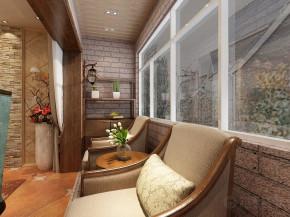 三居 美式 收纳 白领 80后 小资 阳台图片来自阳光力天装饰在力天装饰-新汇华庭120㎡的分享