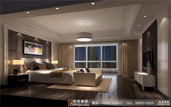 麓山国际卧室厅细节效果图---成都高度国际装饰