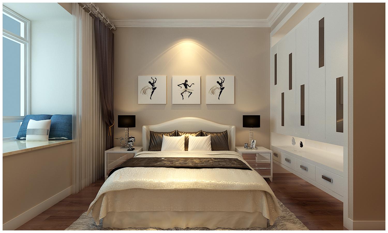 简约 二居 白领 收纳 80后 小资 卧室图片来自快乐彩在中海国际社区现代简约装修风格的分享