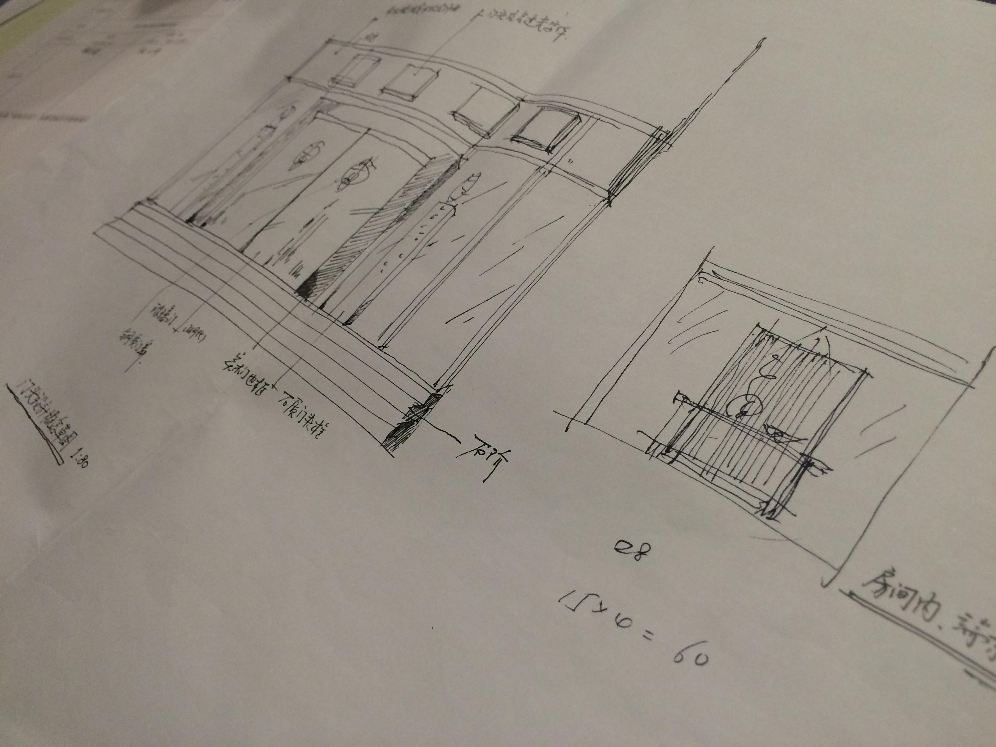 简约 欧式 田园 混搭 二居 三居 别墅 白领 旧房改造 户型图图片来自设计师王璞在餐饮空间的分享