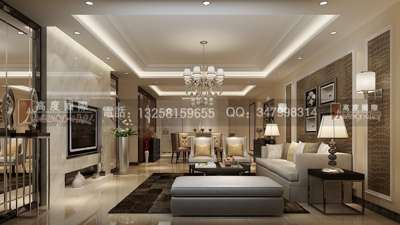 南湖国际 客厅图片来自成都高度国际别墅装饰在南湖国际——港式风格的分享