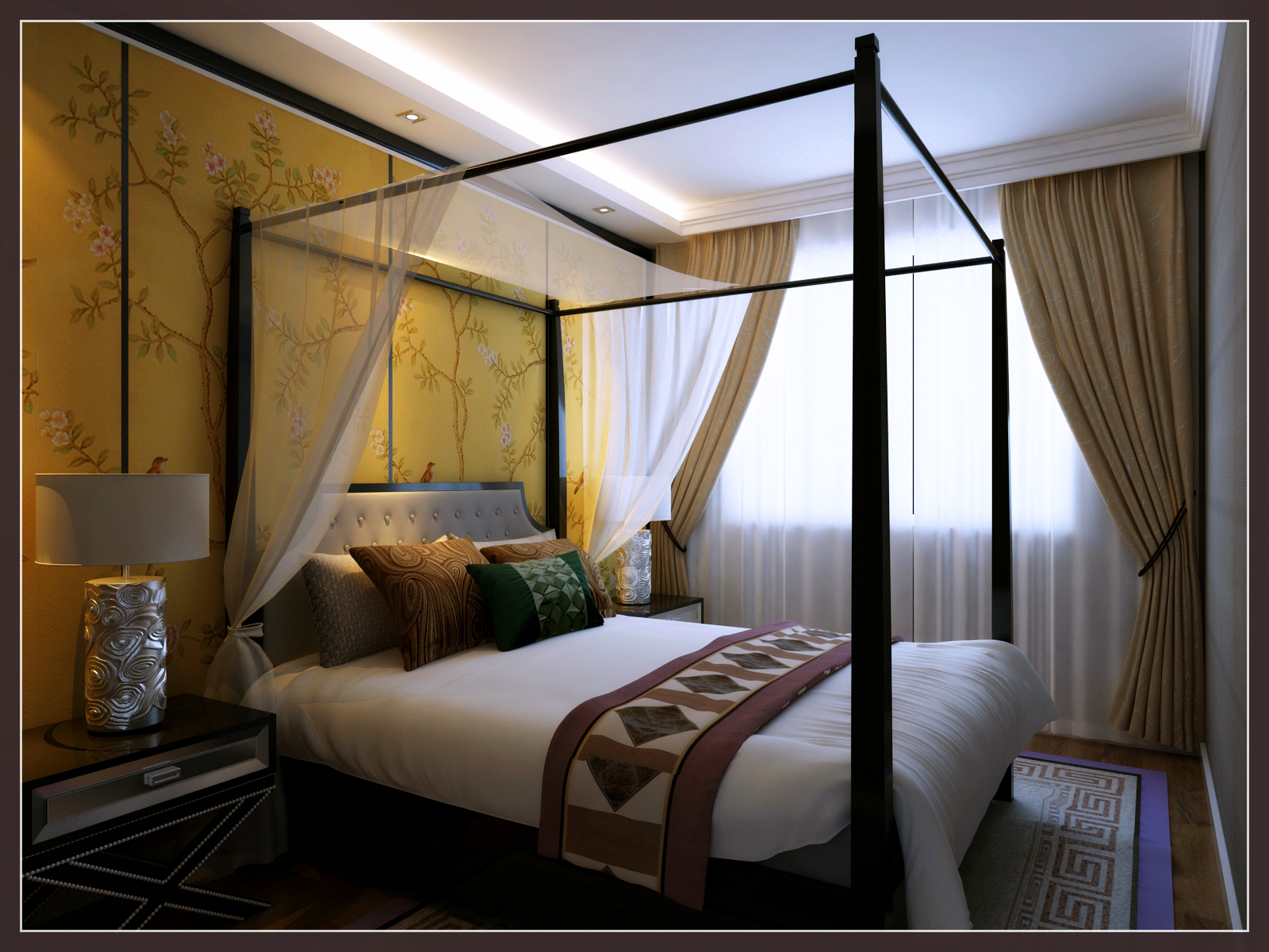 简约 别墅装修 实创688套 卧室图片来自shichuangyizu在假日普罗旺斯的分享