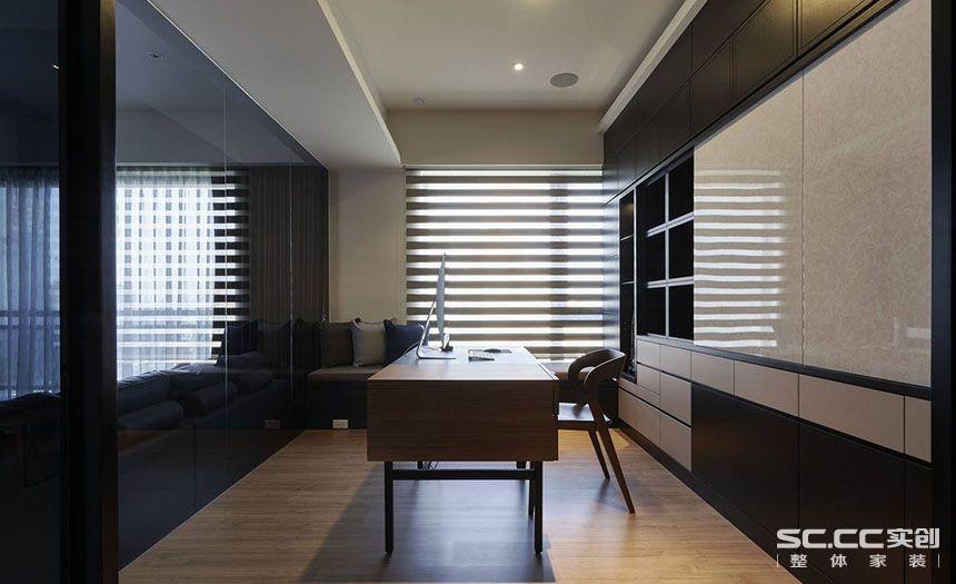 三居 中式 客厅 餐厅 书房图片来自实创装饰晶晶在黄浦逸城135平三居新中式设计的分享