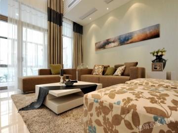 【现代风格】两室两厅的温馨居室