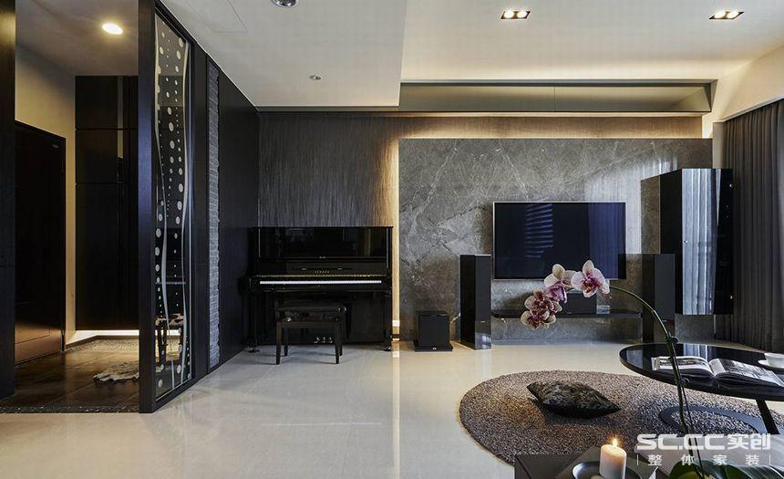 三居 中式 客厅 餐厅 卧室 客厅图片来自实创装饰晶晶在黄浦逸城135平三居新中式设计的分享