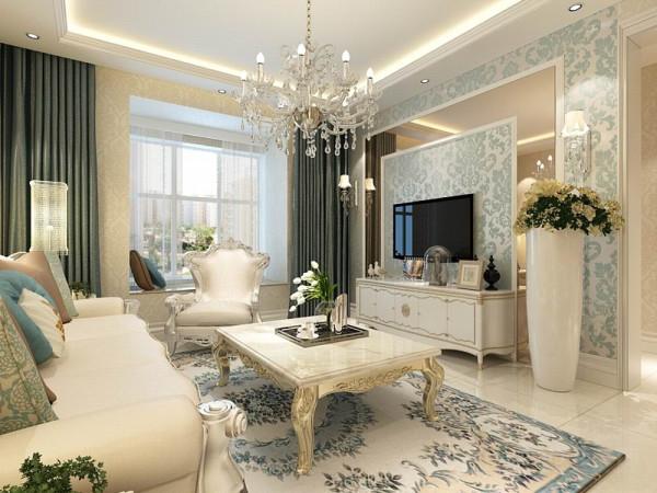该户型丰达园两室两厅一厨一卫94㎡.我设计的是一简欧风格的作品。简欧风格是欧式装修风格的一种,多以象牙白为主色调,以浅色为主深色为辅。