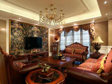 龙湖三千集 140平米 新古典 三室