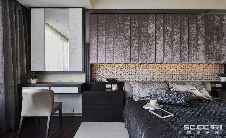 三居 中式 客厅 餐厅 卧室 卧室图片来自实创装饰晶晶在黄浦逸城135平三居新中式设计的分享