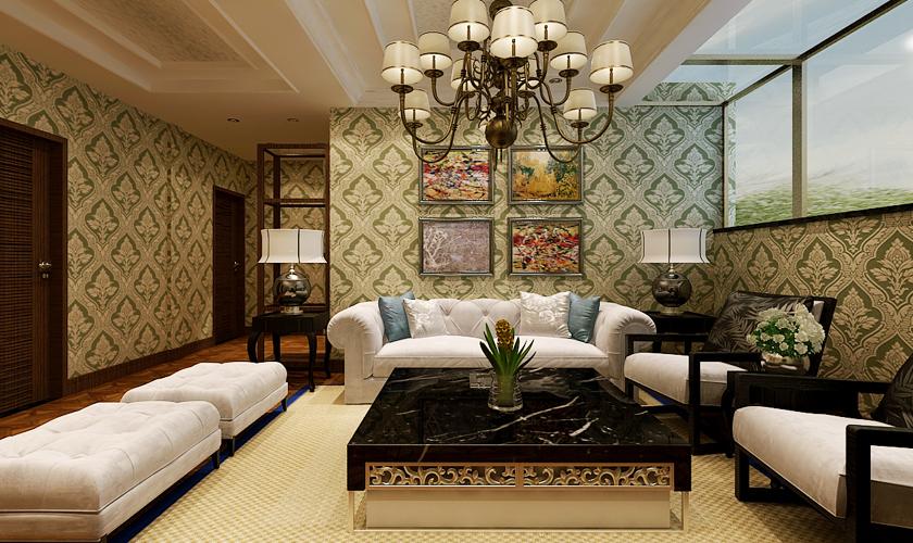 客厅图片来自安莉_Designer在金海广场的分享