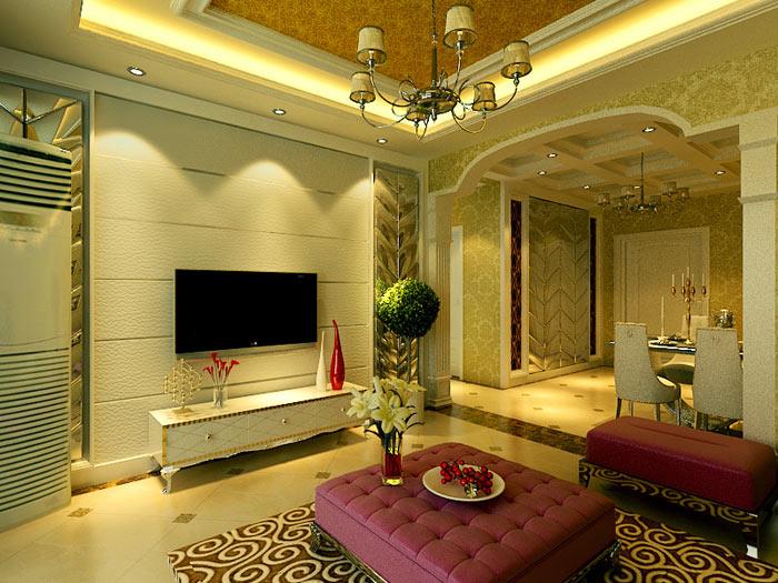 二居 新古典 客厅图片来自长沙业之峰在贡院新古典风格的分享