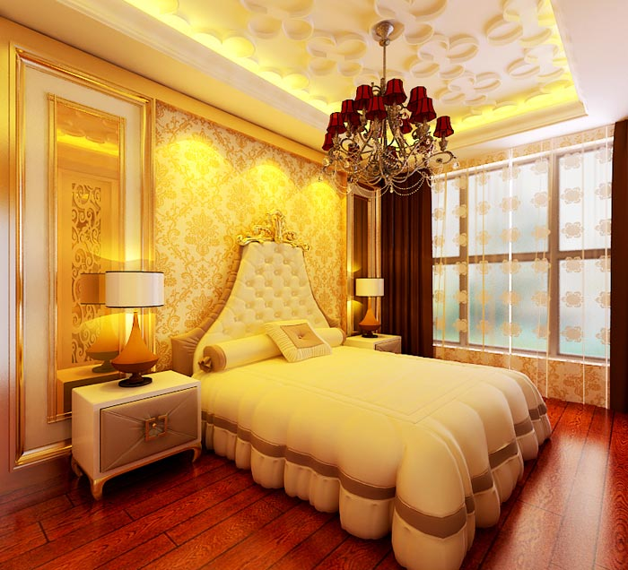 二居 新古典 卧室图片来自长沙业之峰在贡院新古典风格的分享
