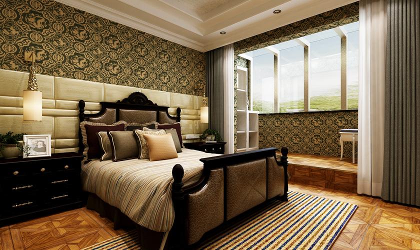 卧室图片来自安莉_Designer在金海广场的分享
