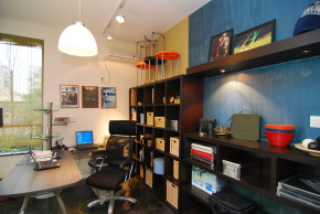 地中海 温馨 公寓 80后 小资 收纳 书房图片来自北京装修设计o在北京奥林匹克花园打造地中海风格的分享