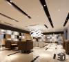 展厅设计 工装 创意简约风