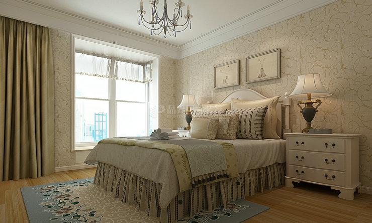 卧室图片来自石家庄亿佰居装饰在石家庄天下玉苑160平现代欧式的分享