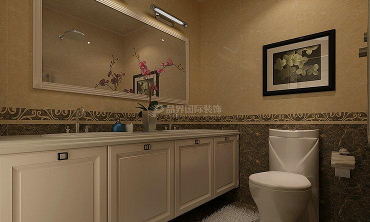 卫生间图片来自石家庄亿佰居装饰在石家庄天下玉苑160平现代欧式的分享