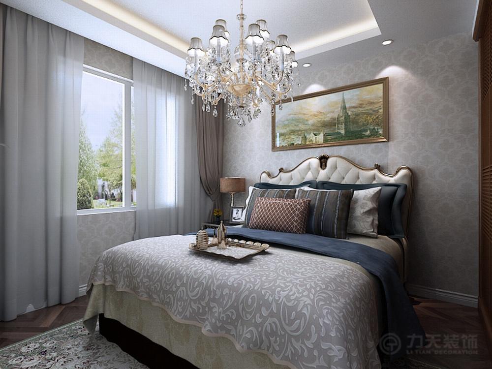 欧式 三居 白领 收纳 80后 小资 卧室图片来自阳光力天装饰在力天装饰-金侨公园壹号120㎡的分享