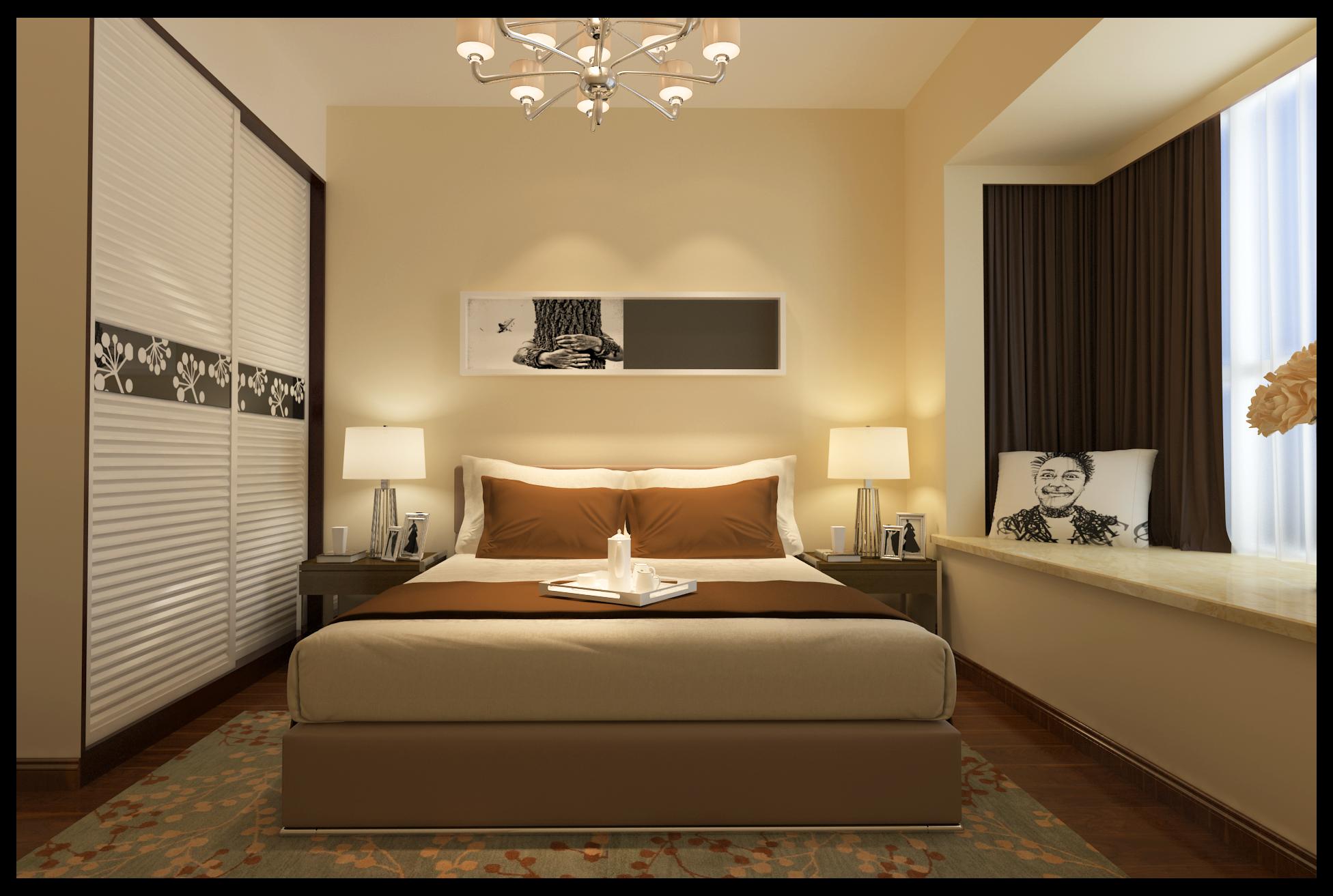 卧室图片来自湖南名匠装饰在凤凰城的分享