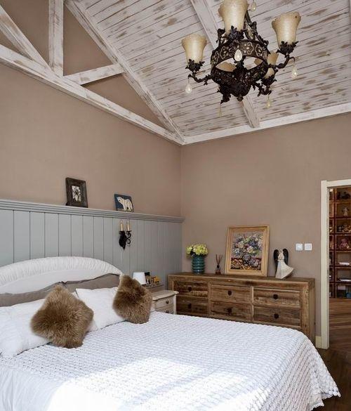 混搭 别墅 卧室图片来自上海华埔装饰郑州西区运营中心在精美别墅装修鉴赏的分享