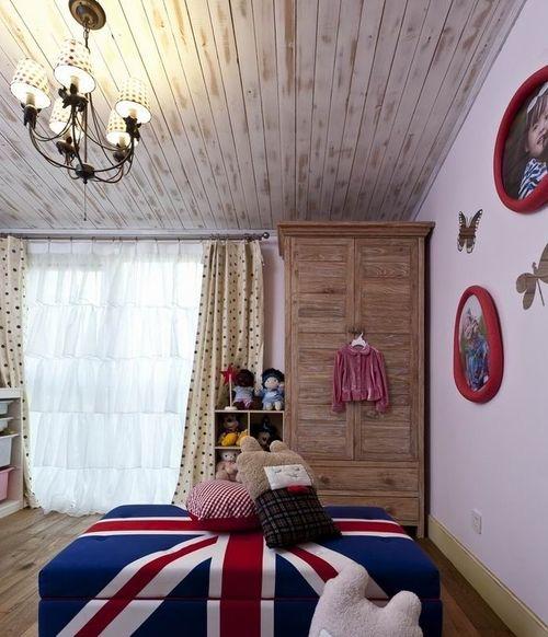 混搭 别墅 儿童房图片来自上海华埔装饰郑州西区运营中心在精美别墅装修鉴赏的分享