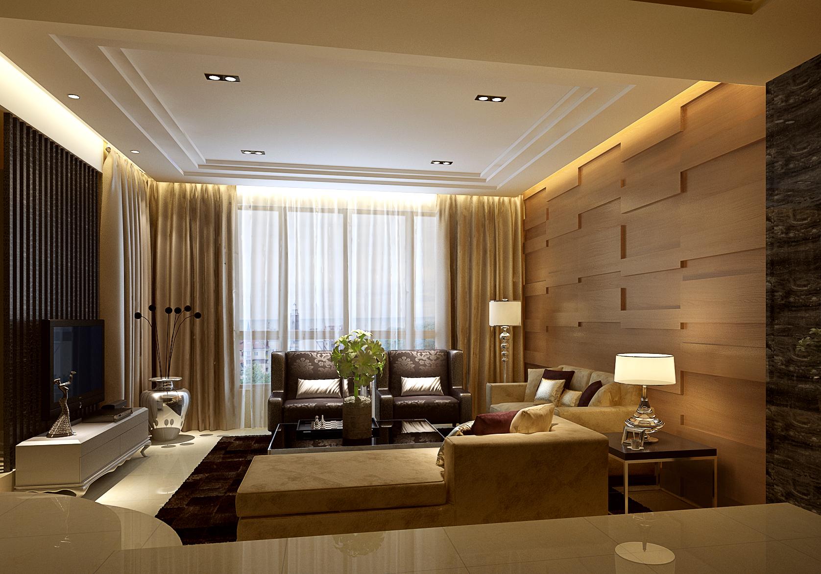 简约 混搭 三居 客厅图片来自成都业之峰装修小管家在中海九号公馆190现代时尚的分享