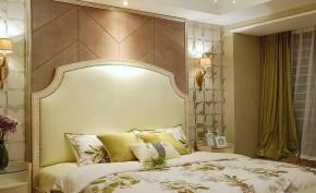 新古典 三居 温馨 舒适 卧室图片来自佰辰生活装饰在9万半包打造131平新古典低调空间的分享