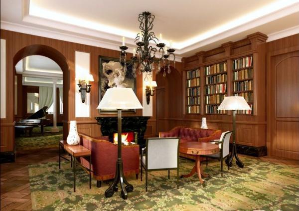 客厅的家具选择以及客厅装饰画的摆设都要有一定档次以及搭配的得当。